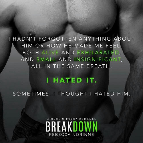 Rebecca Norinne - Break Down Teaser 1