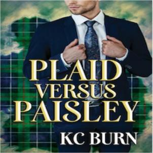 K.C. Burn - Plaid Versus Paisley Square