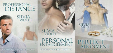 Silvia Violet - Thorne & Fang series
