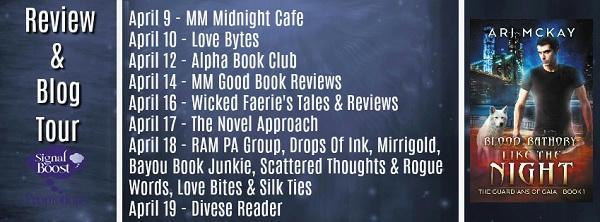 Ari McKay - Like The Night TourGraphic