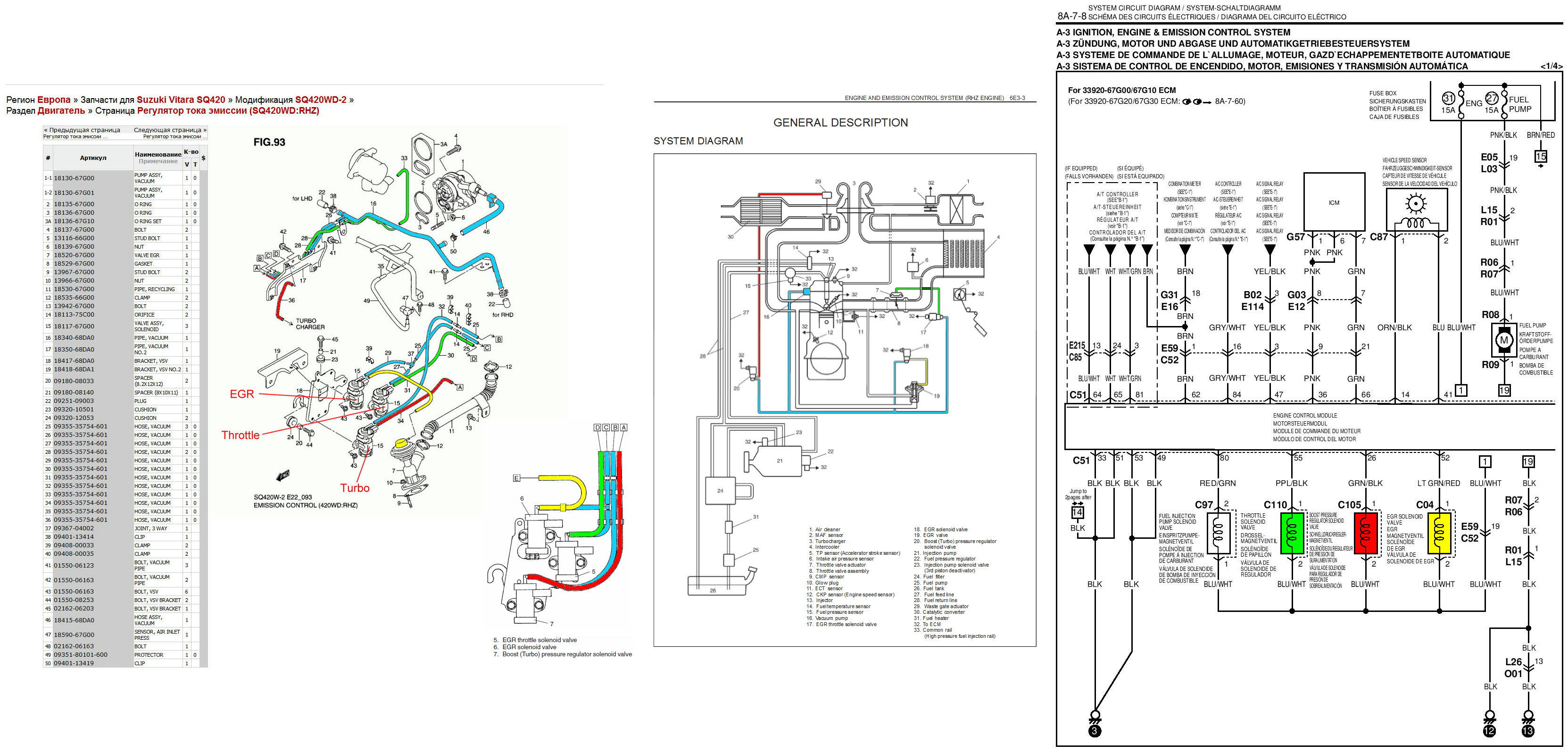 2001 SUZUKI GRAND VITARA FUSE BOX DIAGRAM - Auto