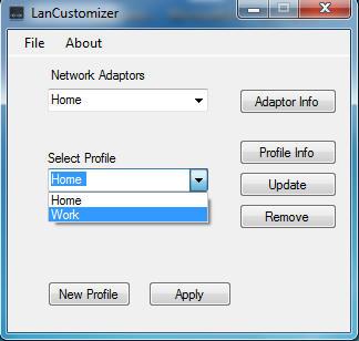 LanCusomizer GUI Image