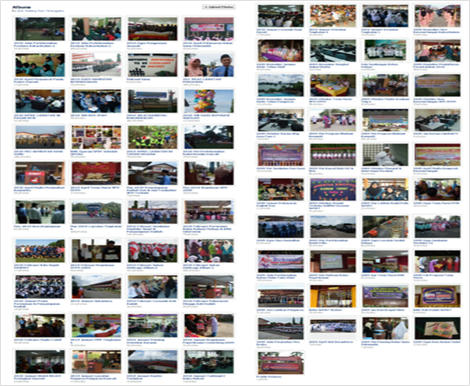 Koleksi Album SeMAT Bestari di Akaun Facebook Sekolah