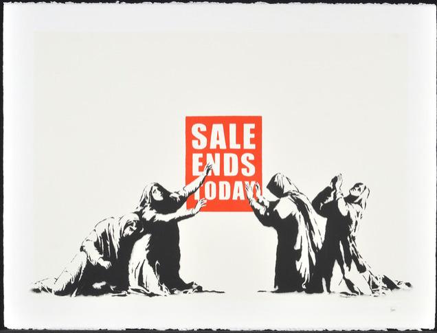 banksy e28093 prints for sale