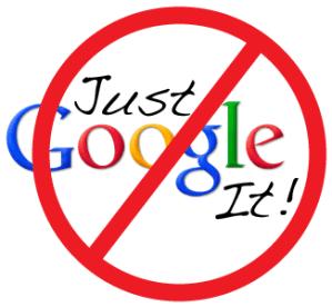 no google logo