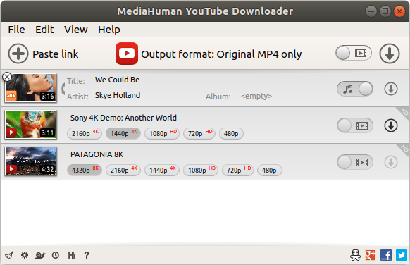 MediaHuman YouTube Downloader  featurerich app to