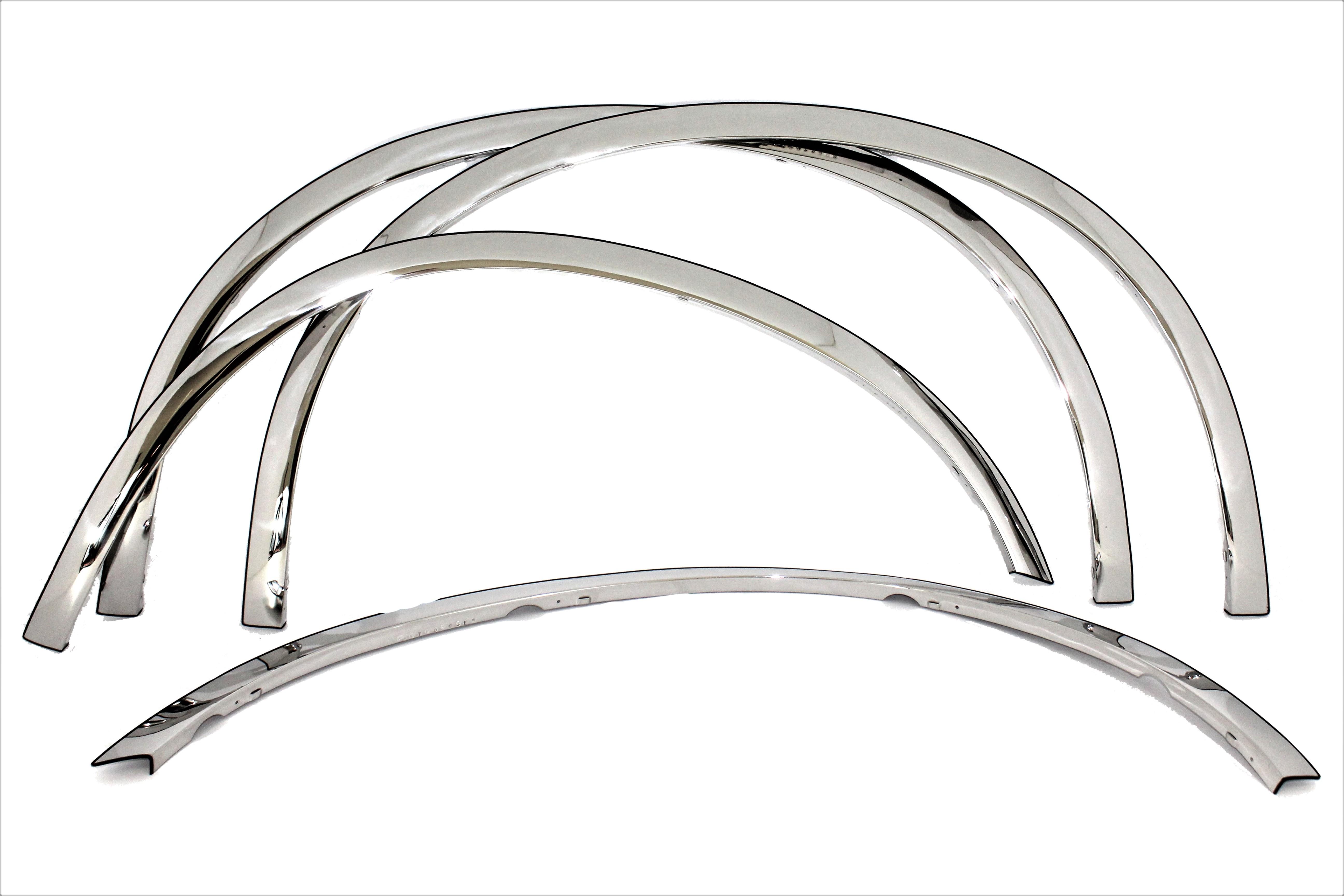 11 16 F250 Super Duty Carrichs Ftfd236 Chrome Fender Wheel