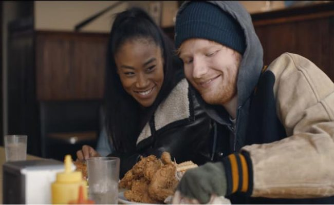 Ed Sheeran S Shape Of You Video Has The Cutest Love