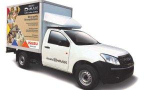 ISUZU Dry Box Vehicle