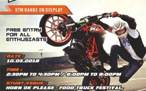 KTM to organize Stunt Show