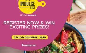 Femina & GoodHomes India launch a virtual food festival – INDULGE FEST