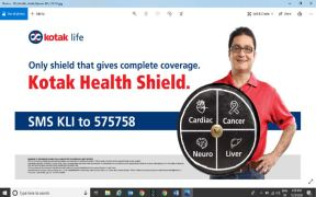 Outdoor Campaign for Kotak Health Shield