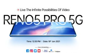 OPPO to launche its latest smartphone OPPO Reno5 Pro 5G