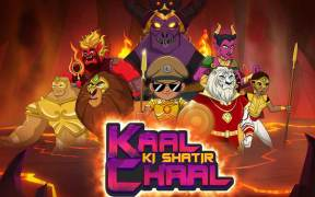 Discovery Kids brings 'Kaal Ki Shatir Chaal'