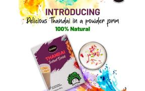 Gulabs introduces Thandai in powder form for Holi Festivities