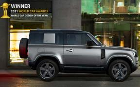 Land Rover Defender becomes 2021 World Car Design of the Year