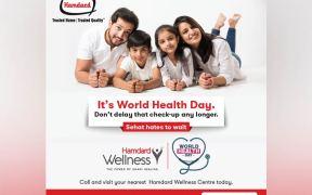 Hamdard Laboratories launch campaign