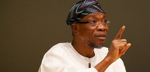 Aregbesola installs countdown beam on office exit