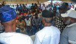 VP attends APC Ward Congress in Agungi under Eti Osa LGA. Received by Party leaders in the area. Lagos State. 5th May 2018.