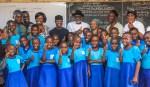 VP OSinbajo visits Alagbaka Primary School, Akure. 4th May, 2018.