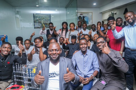 VP Osinbajo visits Ventures Park, an innovative tech hub where he interacts with various startups