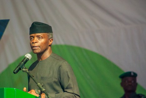 Vice President Yemi Osinbajo, SAN, declares open the 14th All Nigeria Editors Conference
