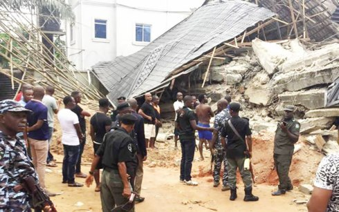 Two expatriates, others trapped in collapsed Anambra building
