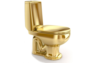 A Throne for a King NYC Museum to Install Solid Gold Toilet