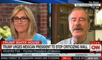 Former Mexican President Vicente Fox Drops F-Bomb During Live CNN Segment