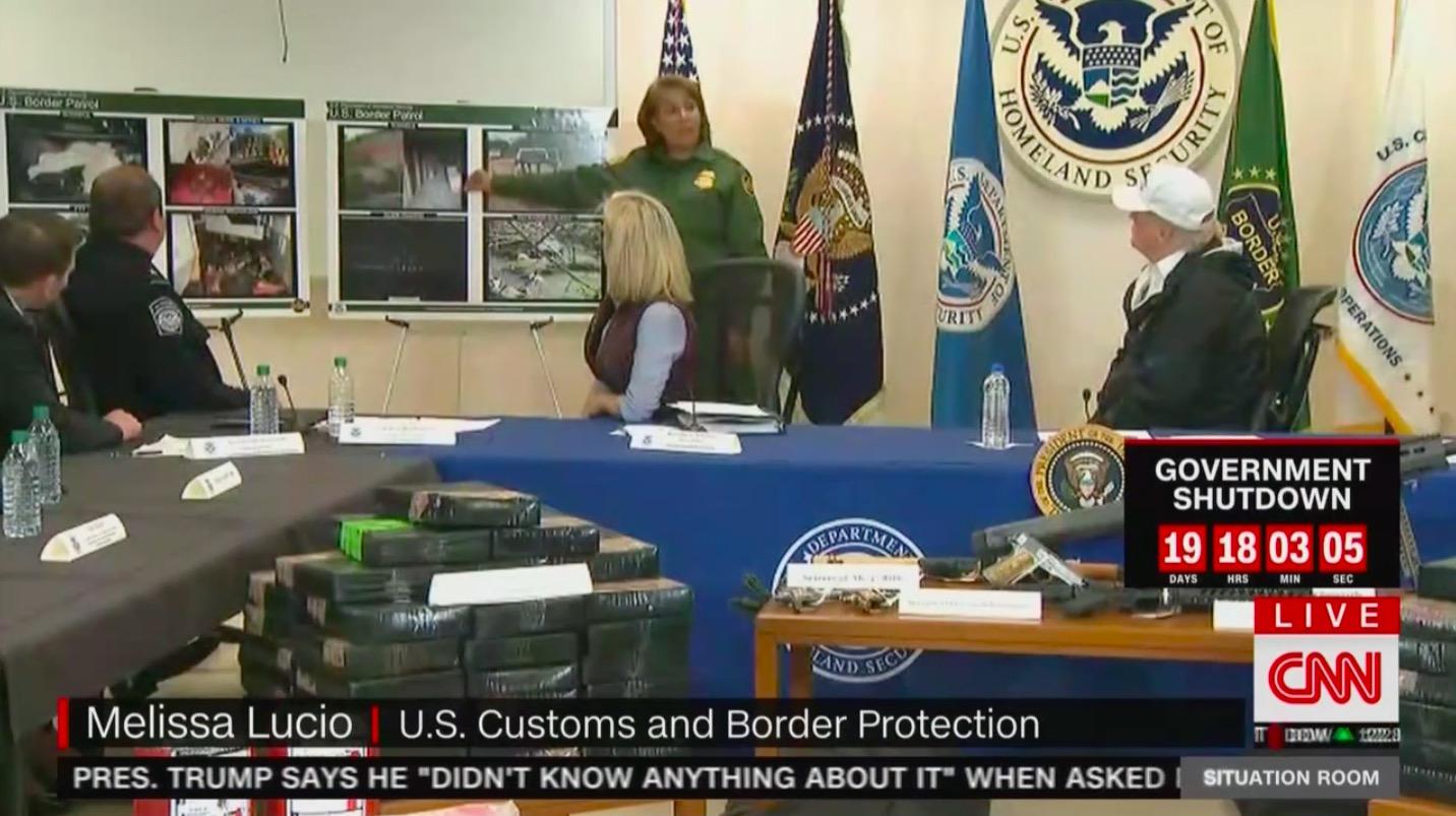 WATCH Border Patrol Agent Shows Trump Tunnels Under