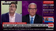 WATCH: Anderson Cooper and MyPillow CEO Mike Lindell scream at each other for over 20 minutes