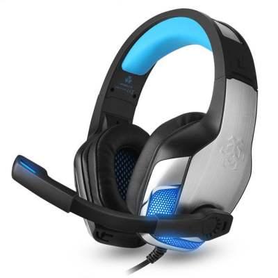 Hunterspider V4 blauw Gaming headset