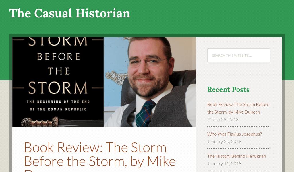 Casual Historian