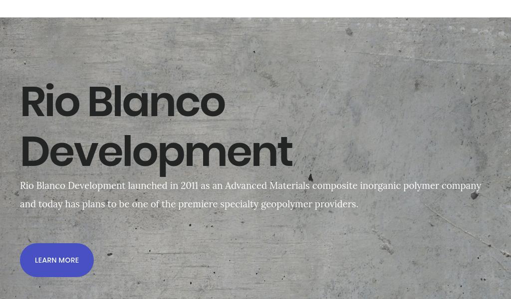 Rio Blanco Development