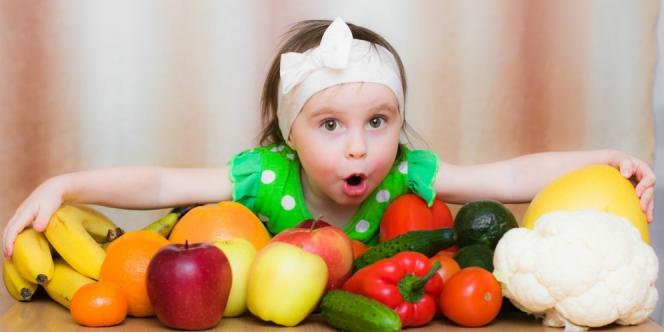 buah organik untuk kesehatan anak