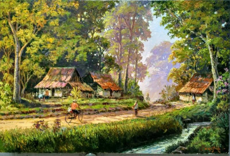 Pemandangan Kampung