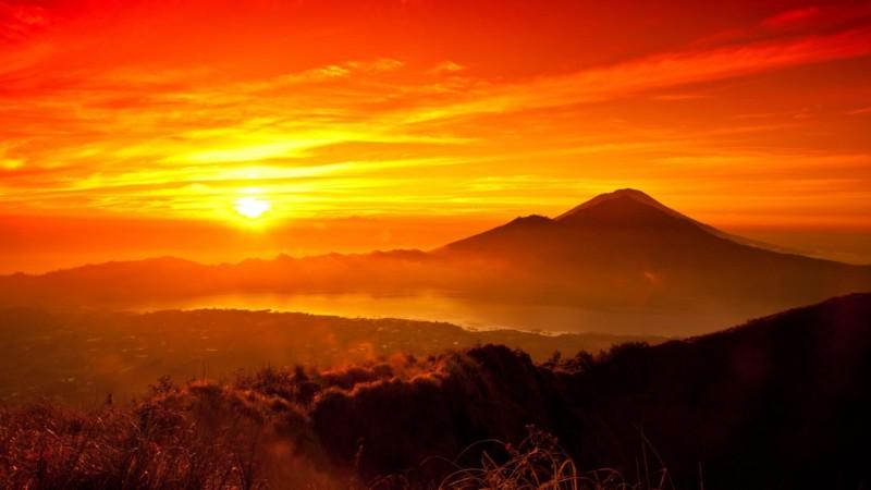 Pemandangan Sunset