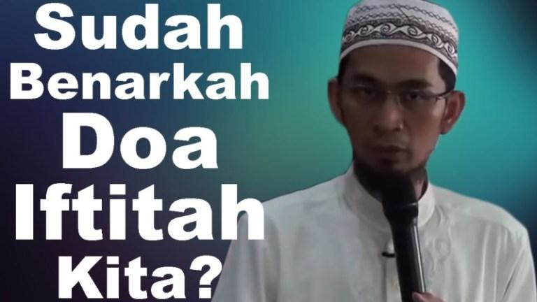 doa iftitah dan artinya