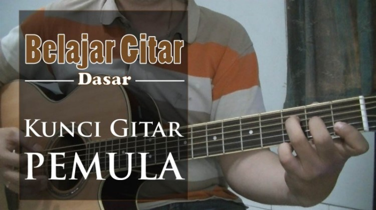 belajar kunci gitar pemula