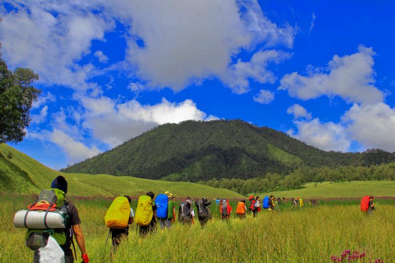 Gunung Semeru Perjalanan