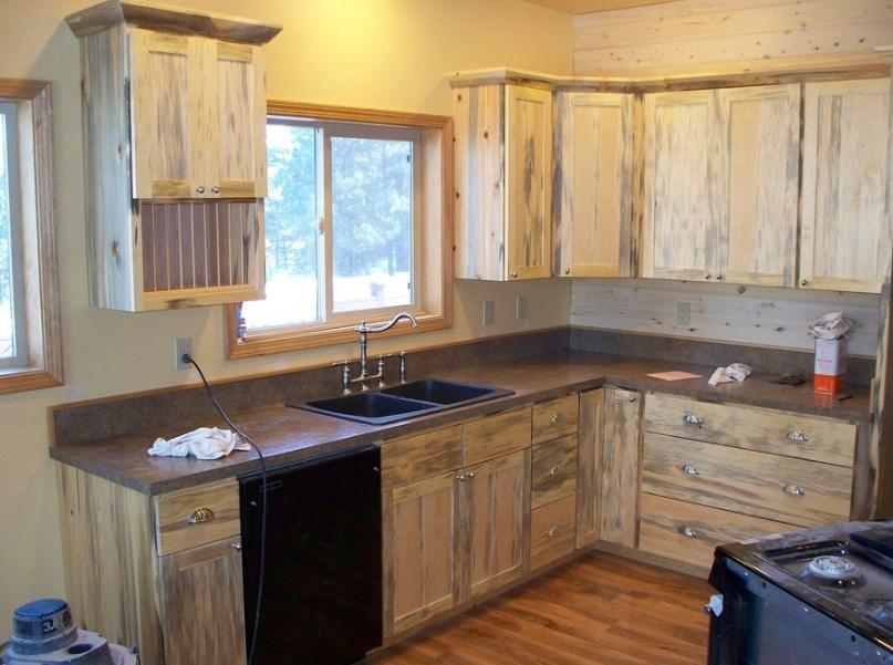 dapur minimalis kayu