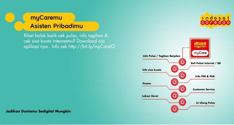Cara Mengecek Kuota Internet Indosat OOREDOO Terbaru 2018