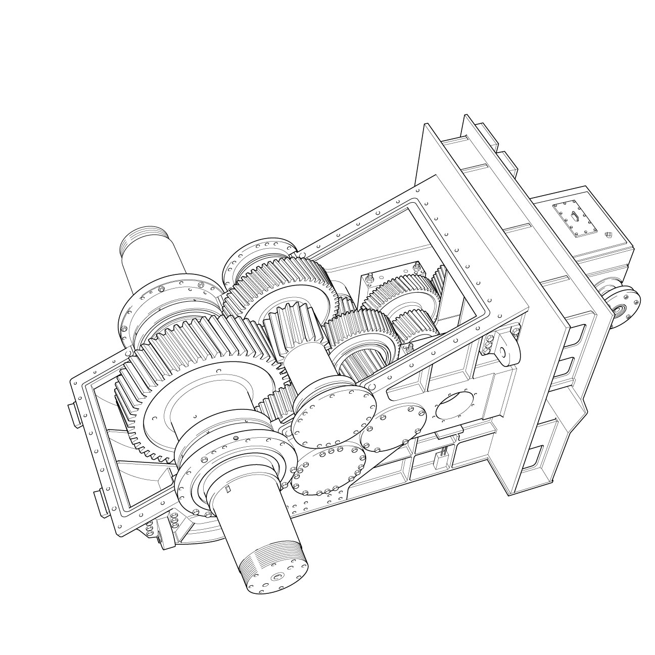 Technical Illustration for service manuals, technical