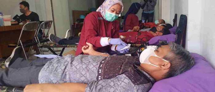 PGLII Kota Bekasi Darma Bakti Kemanusiaan Donor Darah