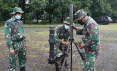 Permalink ke Personel Yonarmed 10 Roket/Bradjamusti Melaksanakan Latihan Tim Pelaksanaan Tembakan