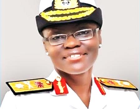 Nigerian First Women - Admiral Itunu Hotonu