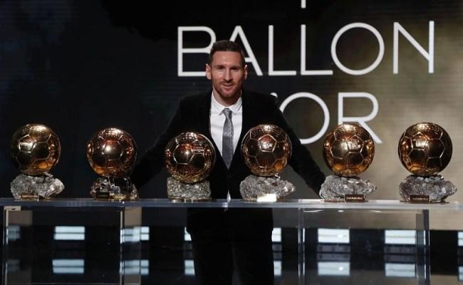 Ballon D Or 2019 Winner Messi Wins His 6th Ballon D Or