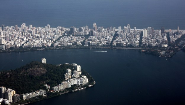 View of Rio from Christ the Redeemer