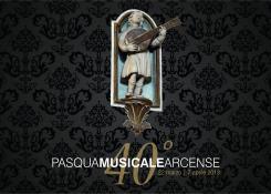 Brochure della Pasqua Musicale Arcense