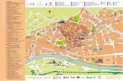Mappa turistica di Trento